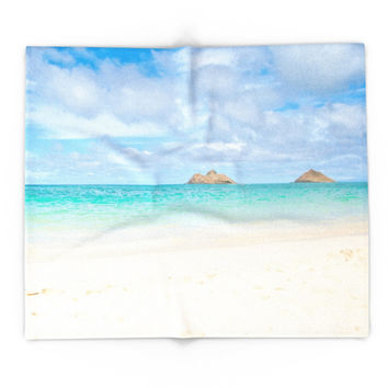 Society6 Lanikai Beach Blanket