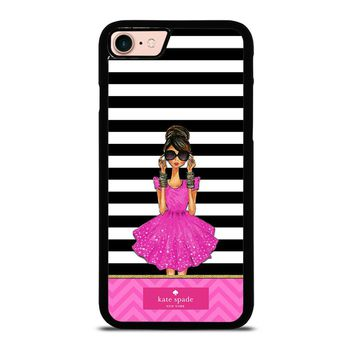 KATE SPADE PINK GIRLS iPhone 8 Case