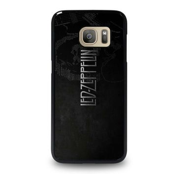 led zeppelin lyric samsung galaxy s7 case cover  number 1
