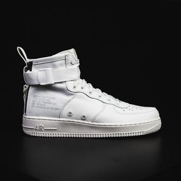 qiyif NIKE - Men - SF Air Force 1 Mid - White