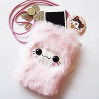 CHICKI  - Kawaii Necklace Pouch Yeti