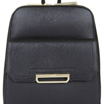 Topshop 'Boris' Structured Faux Leather Backpack | Nordstrom