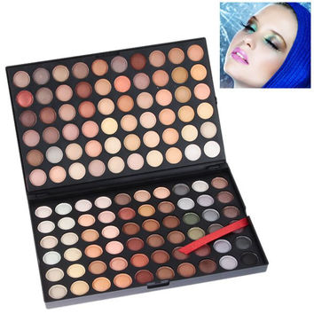 NO.04 120 Colored Make Up Palette in Rectangular Box