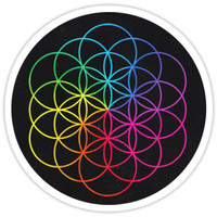 'Coldplay' Sticker by ilhamrb1