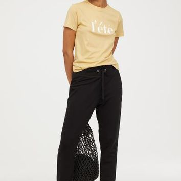Joggers - Black - | H&M US