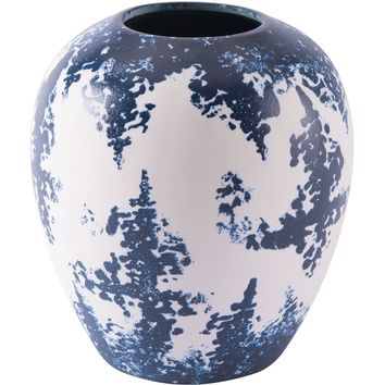 Blue & White Nube Vase, Small