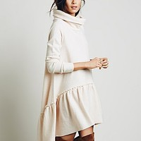 Free People Womens Ruffle Up Tunic