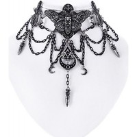Occult Moth | CHOKER NECKLACE