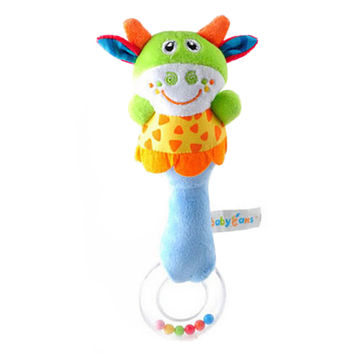 Baby Sleep Appease Doll Comfortable/Soft Handle Developmental Toy Cute Cow