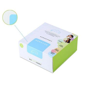 DCCKKFQ 40pcs/box Makeup Cotton Cloth Sofe 12*12 CM Cosmetic Removing Cotton Pads Face Eye Pumping Cleansing Tool