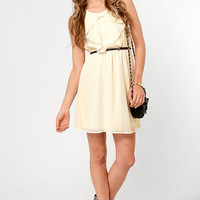 French Vanilla Cream Dress