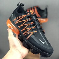 "Nike Air VaporMax Utility ""Black Orange"" Men Running Shoes - Best Deal Online"