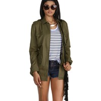 Promo- Olive Natural Chic Anorak