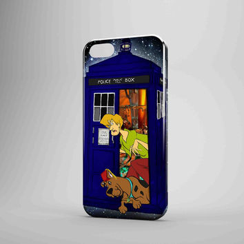 Tardis Doctor Who Scooby Doo iPhone Case Galaxy Case 3D Case