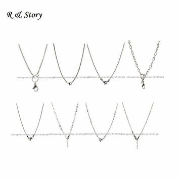 Toggle Rolo Stainless Steel Chains for Lockets like Living Southhill Designs LFH_001