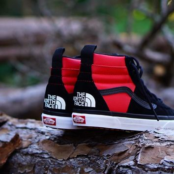 AU spbest The North Face X Vans Sk8 Hi MTE DX  Black/Red