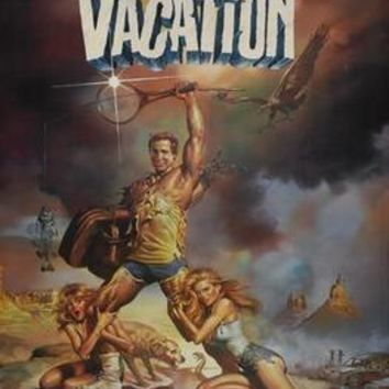 National Lampoon Vacation Movie poster Metal Sign Wall Art 8in x 12in