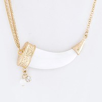 ICONIC HORN NECKLACE SET