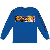Incubus Men's   Long Sleeve Blue