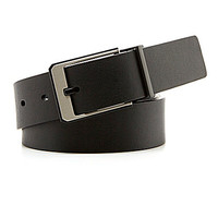 Murano Day And Night Reversible Belt - Black