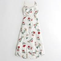 Girls Cutout Maxi Dress | Girls New Arrivals | HollisterCo.com