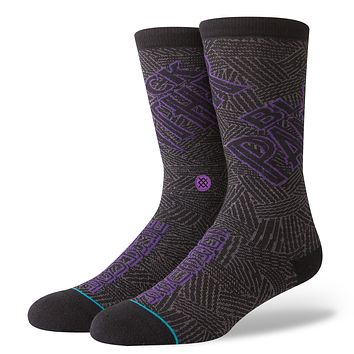 STANCE MEN'S MARVEL BLACK PANTHER SOCKS