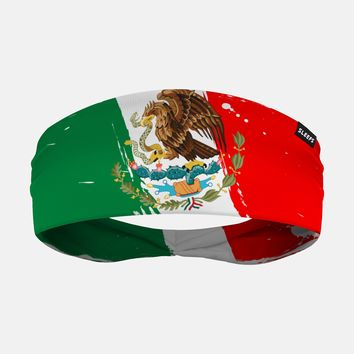 Mexico Brushed Flag Headband