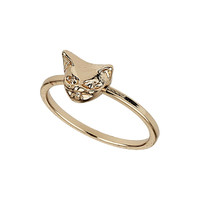 Gold Cat Midi Ring - Jewelry - Bags & Accessories - Topshop USA