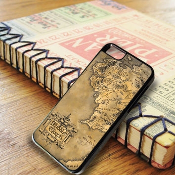 Middle Earth World Map iPhone 6 | iPhone 6S Case