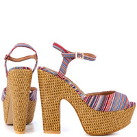 Lovely People - Iman - Multi Red