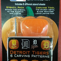 MLB Detroit Tigers Pumpkin Carving Kit