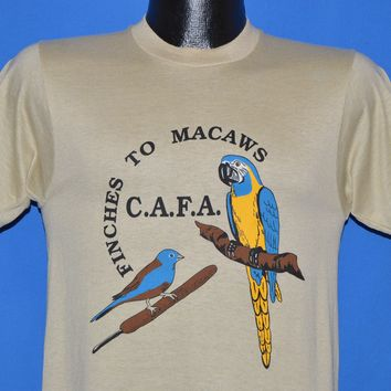 80s Finches To Macaws C.A.F.A Deadstock t-shirt Small