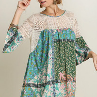 Free Spirit Dress - Green