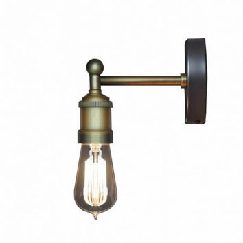 Concise living room bedroom bar counter creative countryside vintage industrial edison wall lamp light wall sconce