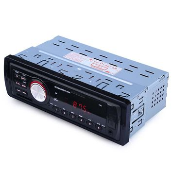1 Din Car Radio Player Auto Audio Stereo MP3 Player Support FM SD AUX USB Interface for 1-Din Car In-Dash Radio Input Receiver