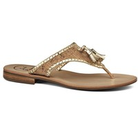 Alana Sandal in Cork and Gold by Jack Rogers