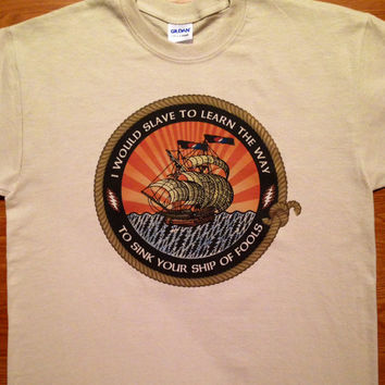 Ship Of Fools Grateful Dead Tees