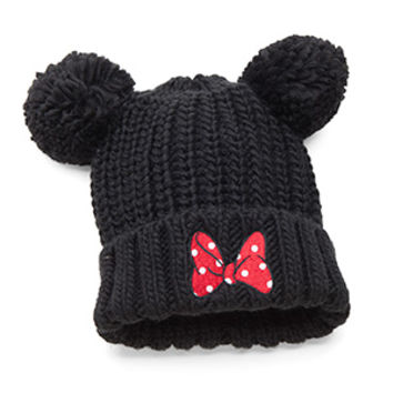 Minnie Mouse Pom Beanie