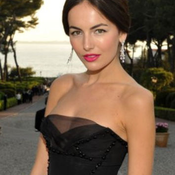 Camilla Belle Poster 24x36 black dress