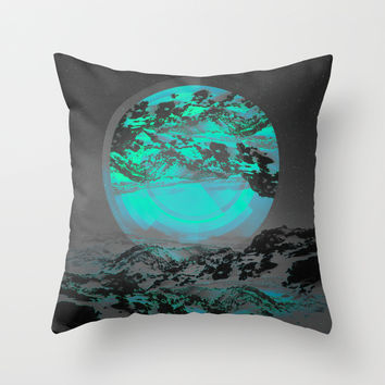 Neither Up Nor Down II Throw Pillow by Soaring Anchor Designs