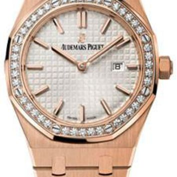 Audemars Piguet - Royal Oak Lady Quartz 33mm - Pink Gold