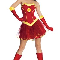 Secret Wishes Women's Marvel Universe Iron Lady Costume Tutu Dress