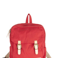 Swing Into Action Backpack in Red