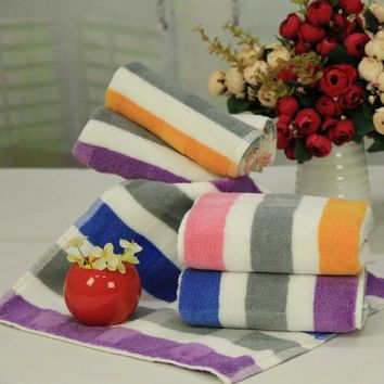 Adults  Luxury Designer Vibrant Colored splashed Stripes, 100% Cotton Terry, Super Absorbent, Fade Resistant, Plush and Soft Bath Towels. Mix And Match Choices