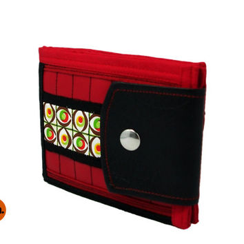 Vegan Wallet for Man for Woman Bifold Wallet Cool Wallet with Coin Pocket, Card Holder - UNUSUAL Wallet