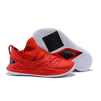Under Armour Sc30 Stephen Curry 5 Low Red/black Basketball Shoe   Best Deal Online