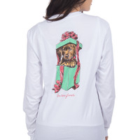 Puppy Present Tee - Long Sleeve