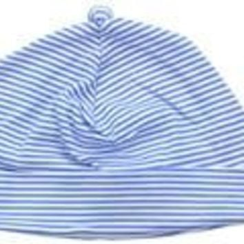 Periwinkle Candy Stripe Hat