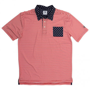 Old Glory Performance Polo by Southern Proper
