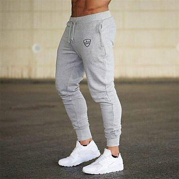 Joggers Sweatpants Men Running Sport Cotton Skinny Pants Gym Fitness Sportswear Tracksuit Trousers Male Training Track Pants